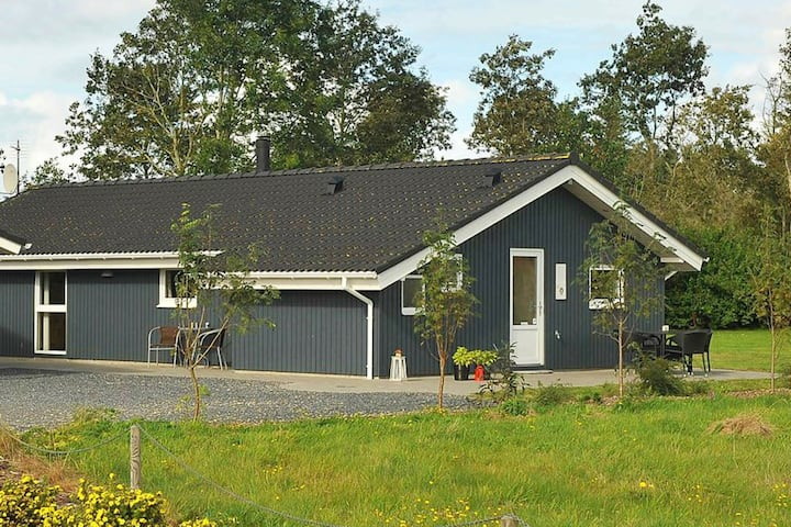 Serene Holiday Home in Oksbøl with Sauna