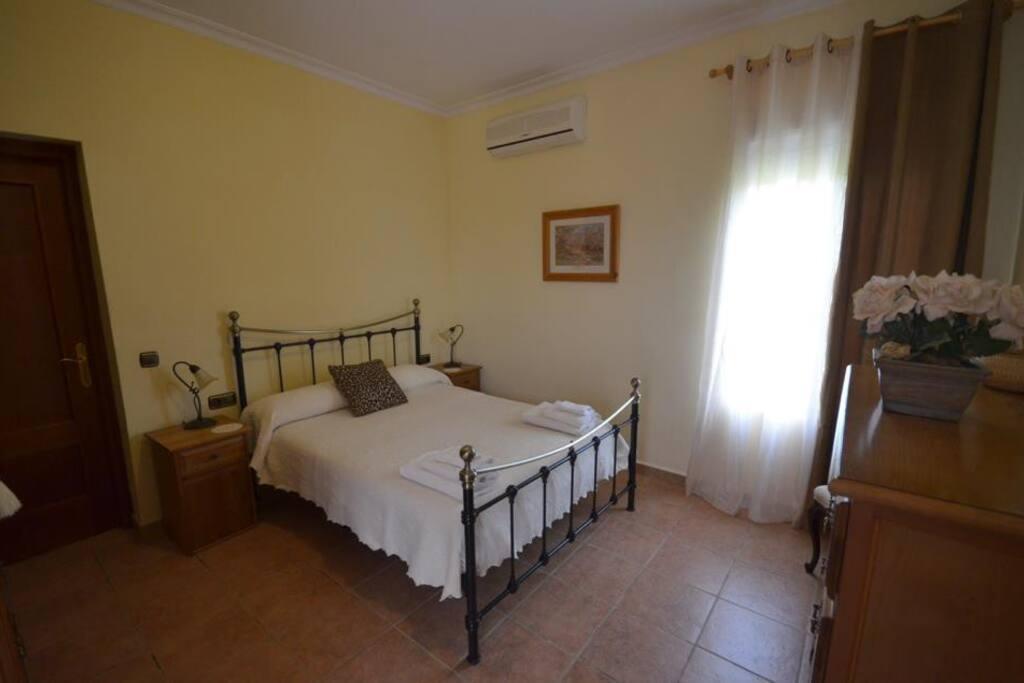 Welcome here is your en suite bedroom.