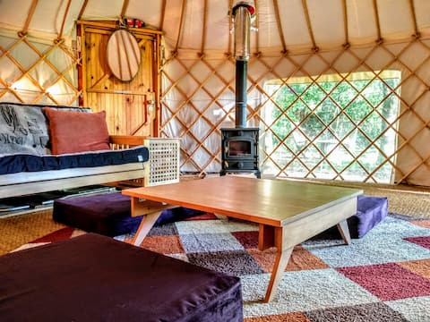 The Woodland Yurt @ Branch Farm