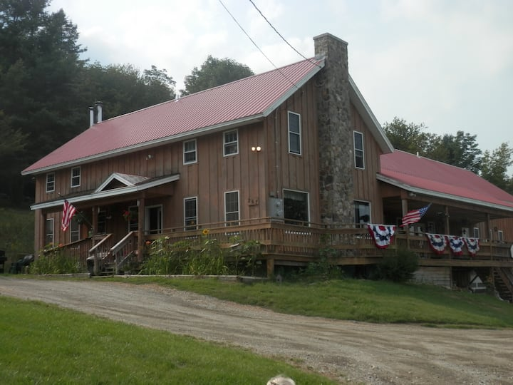 The Dumaine House, on VAST trail, Group Rental