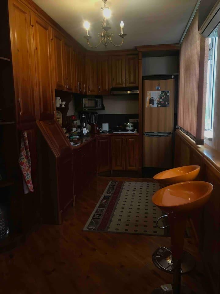 Aziz's apartment