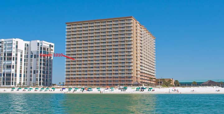 Enjoy Breathtaking View of the Gulf From Balcony!