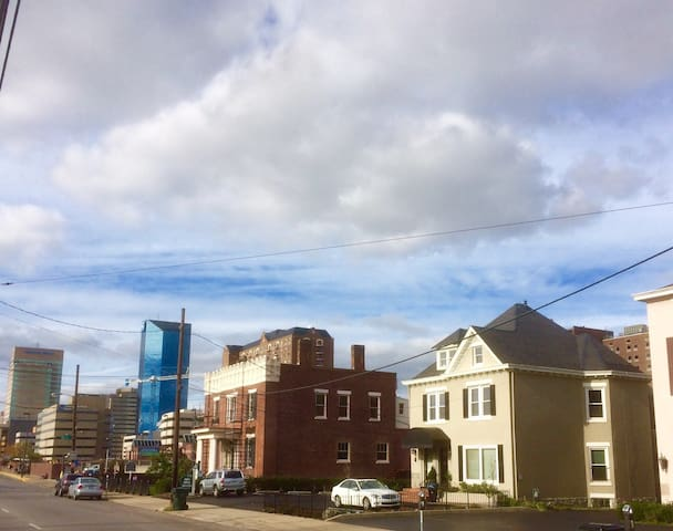 Everything in downtown Lexington is within a few blocks of the apartment