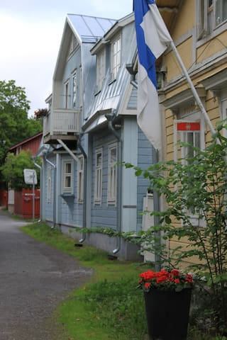 Apartment in a wooden villa in Naantali Old Town - Naantali