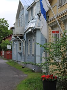 Apartment in a wooden villa in Naantali Old Town - Apartmen