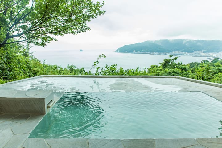 LeCiel Luxury Hotspring Villa     貸切温泉VillaペットOK