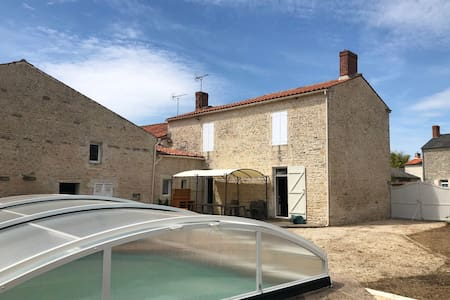 Maison en pierre Vendée sud Marais Poitevin Plage