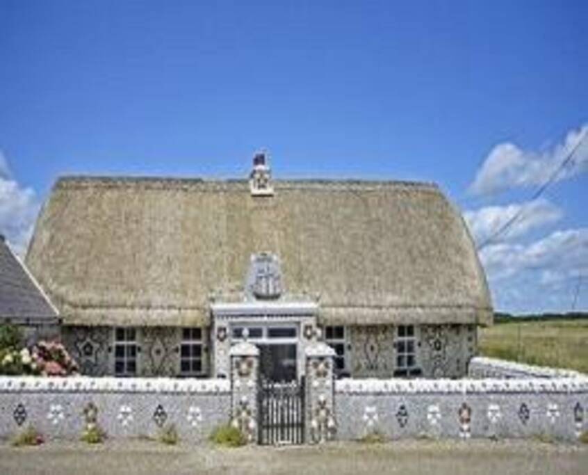 Shell house , cullenstown beach . Approx 5 mins drive from house.