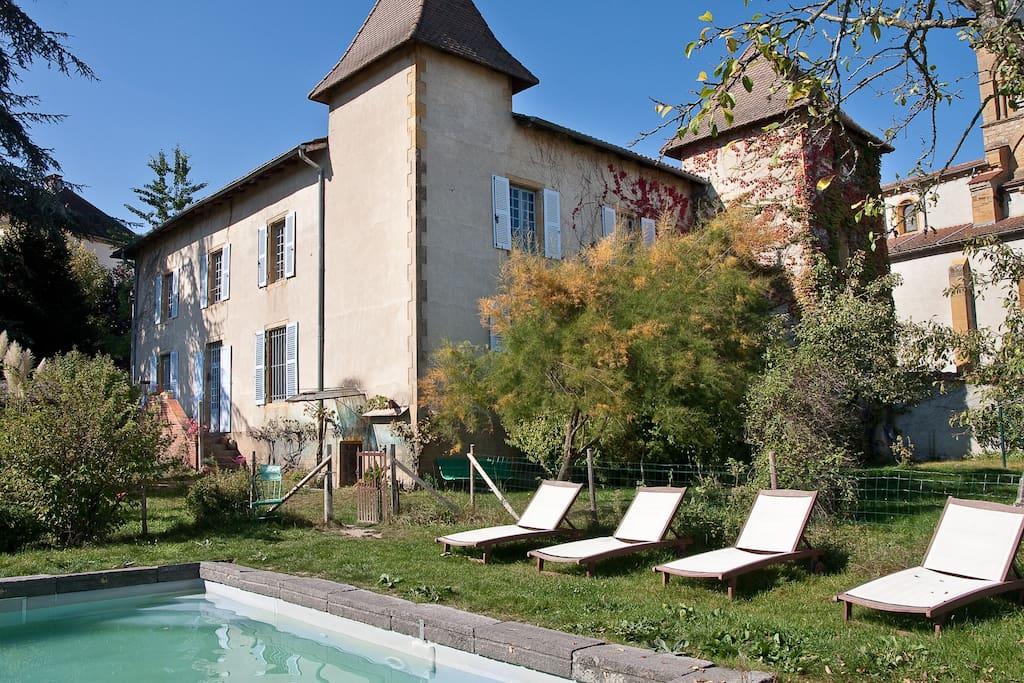 La maison masson manoir et spa castles for rent in - Maison et spa ...