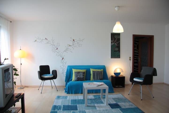 Schöne Stadtwohnung (Nähe Schloss) - Saarbrücken - Apartment