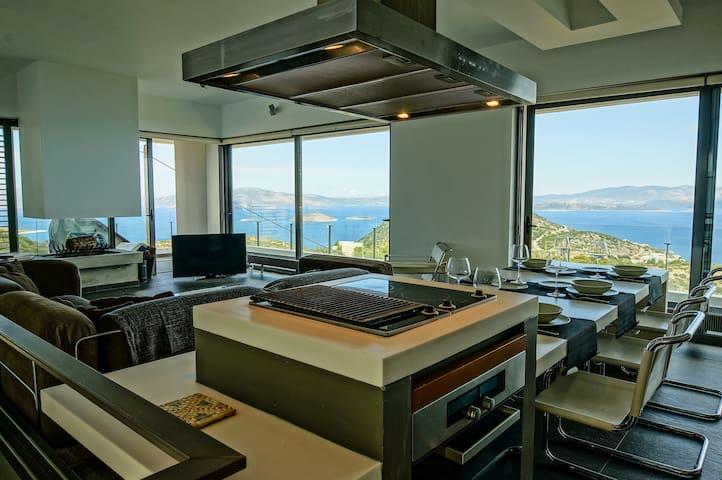 Minimal Deco Villa, Schinias, Marathon - Schinias - Villa