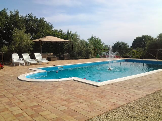 Beautiful large secluded, private pool for your sole use