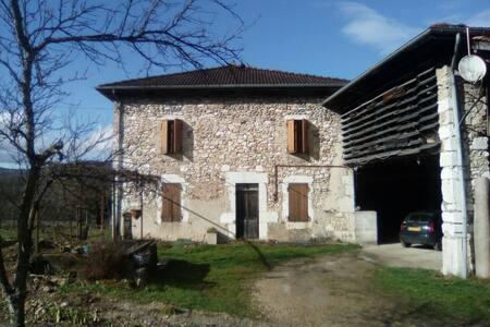 Maison en pierre type dauphinoise. - Rovon - Haus