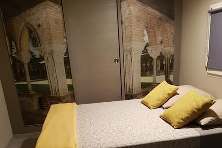 Chambre avec coin cuisine et terrasse privée
