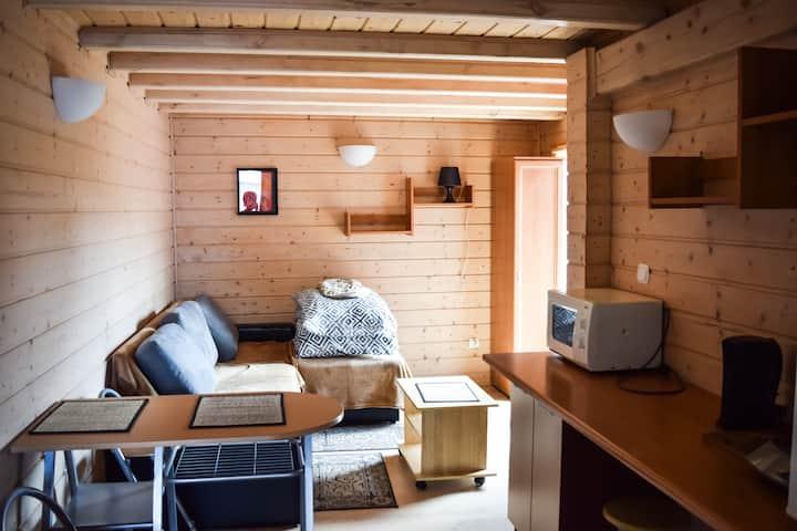 Studio z miejscem do grillowania - Dźwirzyno
