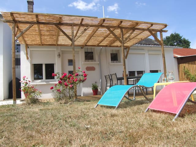 Les Chails guesthouse in a rural setting