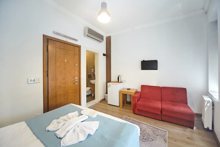 Economic Double Room near the İstiklal Street