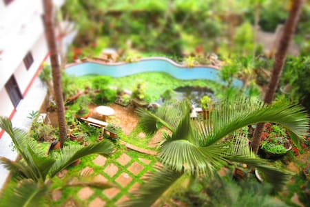 Hostel private rooms with Garden & Hill View - Buon Ma Thuot - ホステル