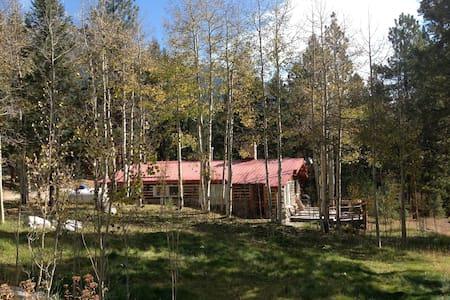 2 Bedroom Creekside Log Cabin - Nathrop - กระท่อม