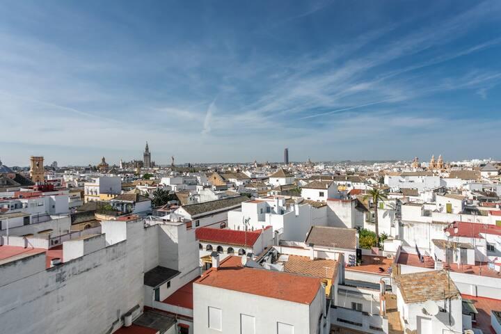 Apartamento a 5 minutos de lo mejor de Sevilla
