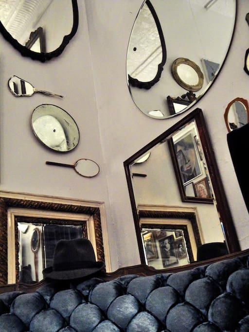 Mirror walls