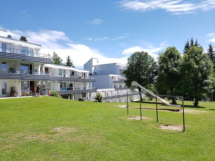 Studio-Apartment-Eigenes Badezimmer-Terrasse