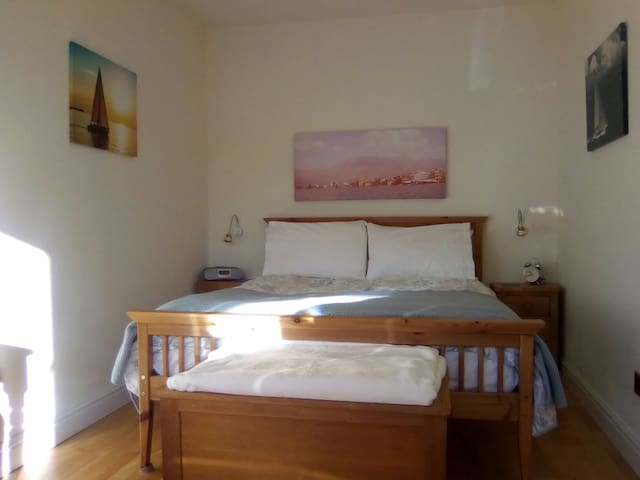 Double room with Juliet balcony west side of town