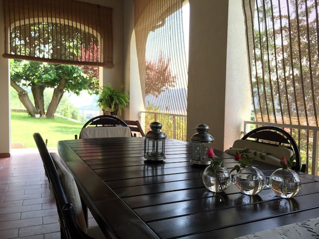 villa vista lago-camera - Villongo - Bed & Breakfast