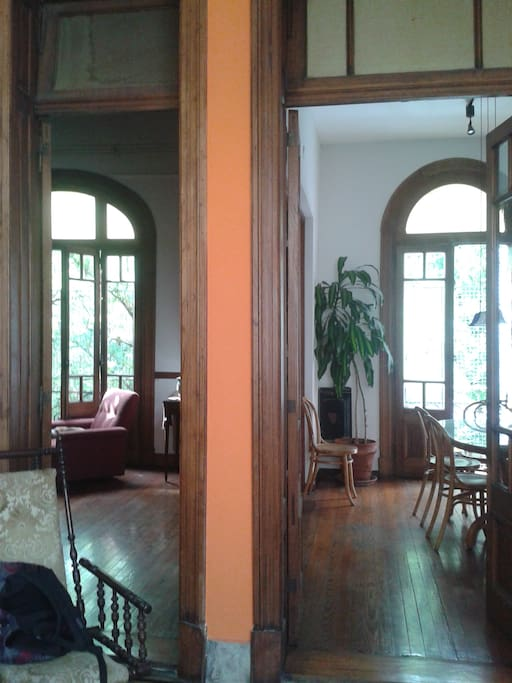 entrance (view of living and dining room)