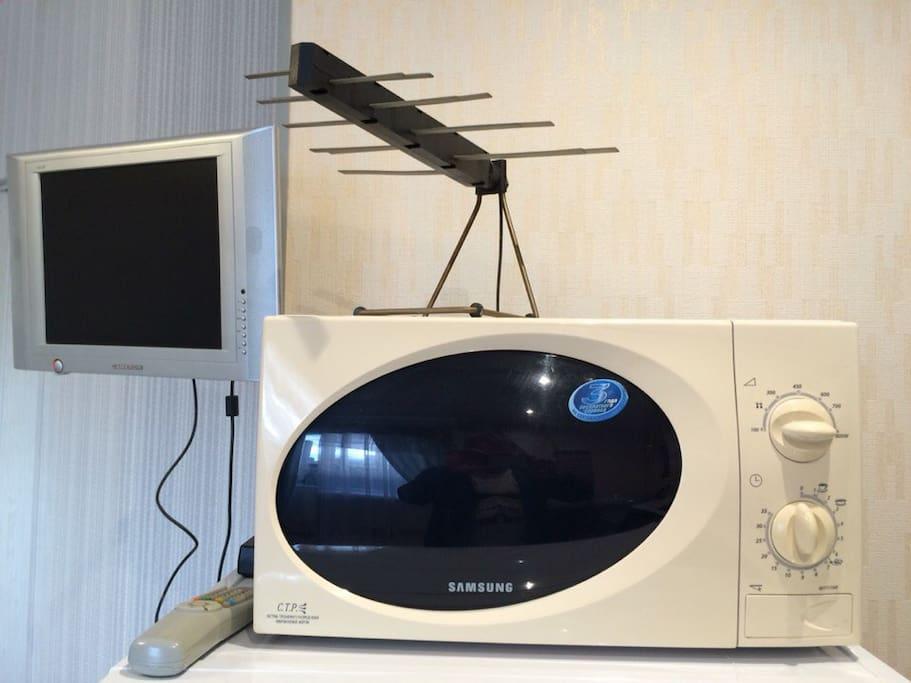 Микроволновка и ТВ