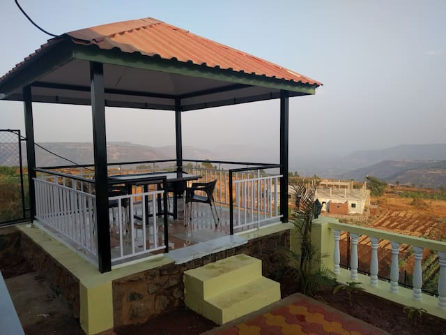 2 Bedroom Valley View Bungalow near Panchgani
