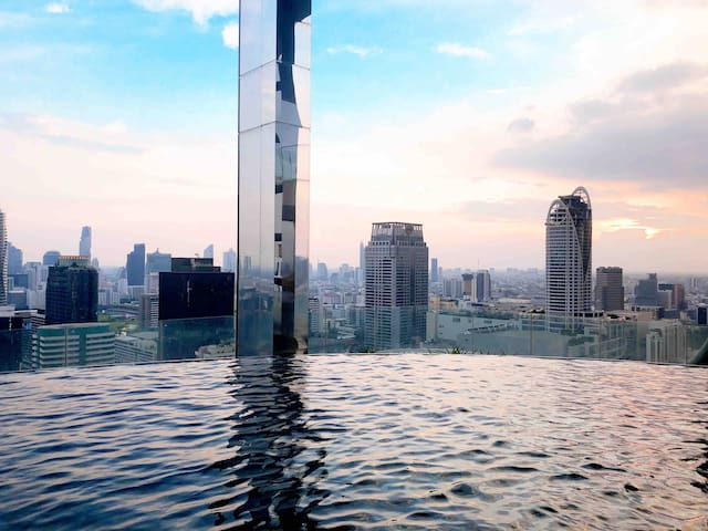1BR Central Bangkok- Siam, Pratunam