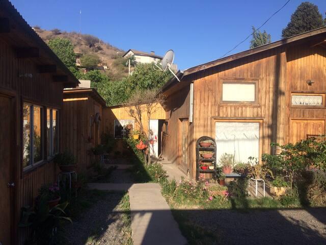 Pieza independiente en hermosa casa en San Felipe