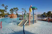 Safe, kid friendly water playground!