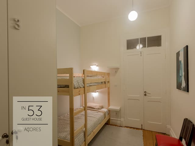 In53- Single Bed in Shared Bunk Bedroom