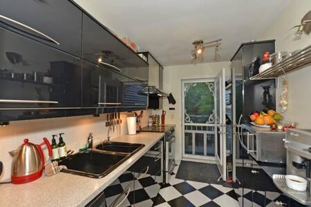 Renovated 3 bedrooms, Garden, Downtown, parking,Ac - Montréal - Apartment