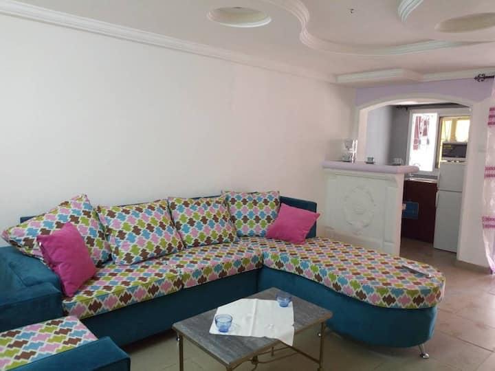Mini villa meublée SPLENDIDE à louer à BESSENGUE