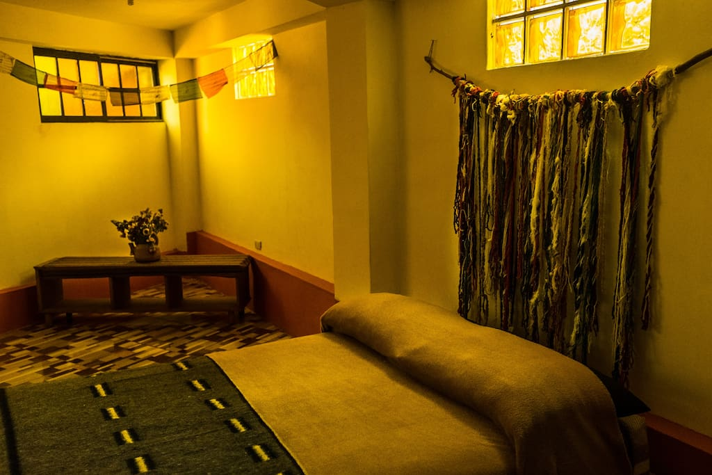 Inside cosy matrimonial room