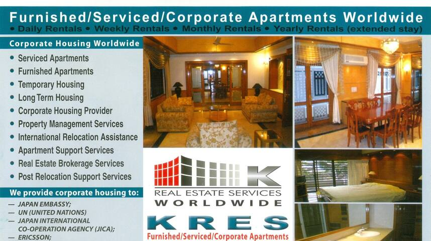 Furnished/Serviced Apt. at Road-12, House-KA4