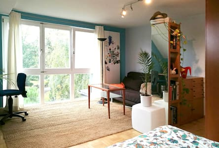 big and cosy room in peaceful area close to center