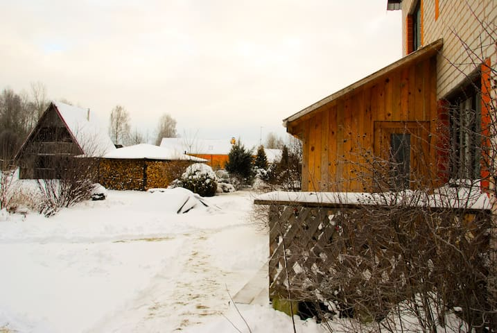 Discover the nature, stay at the country house - Vecumnieki - Hus