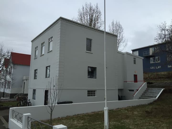 Top floor with great view in city center Akureyri