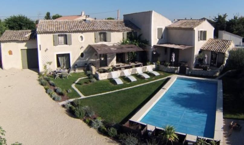 Gîte de charme côté Saint Julien - Cheval-Blanc - Villa