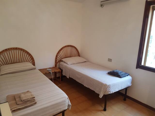 Camera da letto doppia