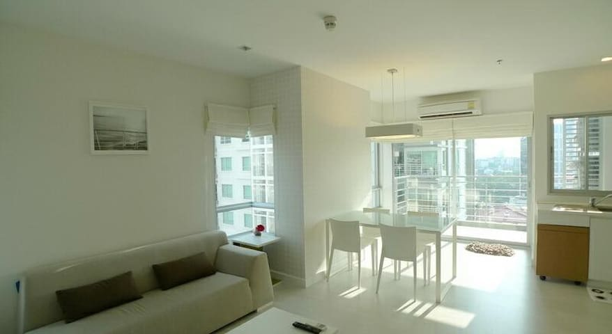 !!!New Cozy Private 2 Bedroom & Bathroom | 4Guest - Bangkok - Apartament