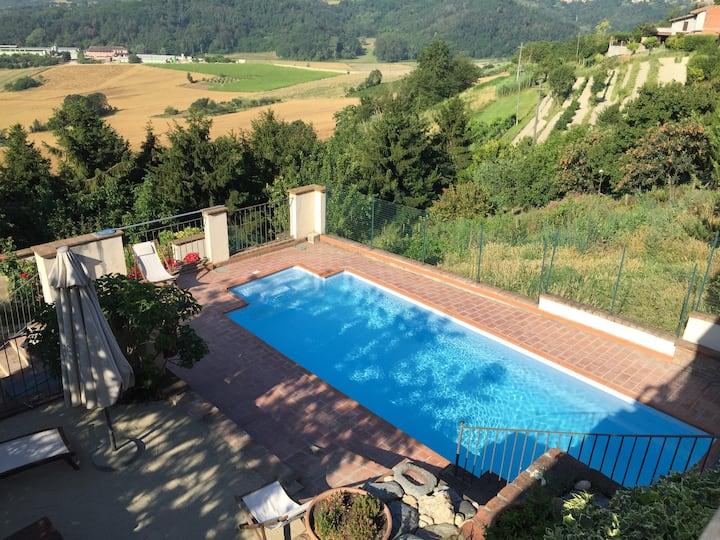 La Fiaba nel Monferrato 10 posti letto con piscina