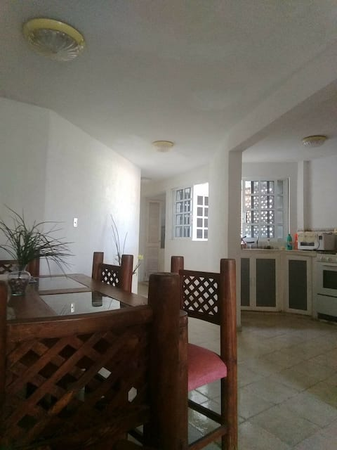 Apartamento amplio, luminoso, bonito y céntrico.