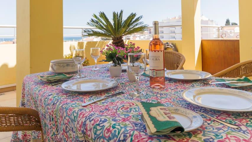 Luxury penthouse overlooking the marina & Atlantic