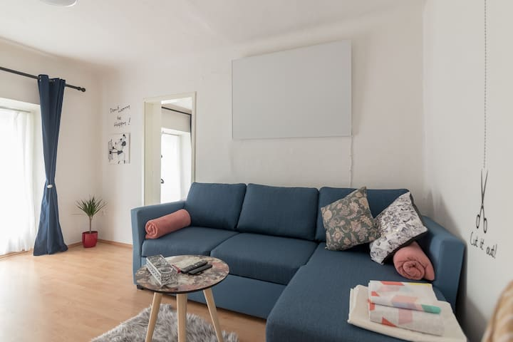 Great modern apartment in the heart of Ljubljana city - old town district. Comfortable, flexible, clean, best location, all is in a radius max 5-minute walking.