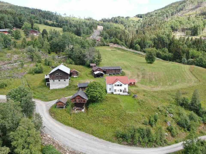 Charming and authentic farm in Tuddal, Telemark